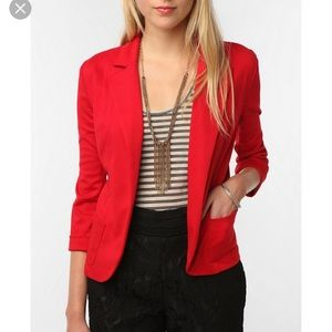 Red Urban Outfitters Blazer